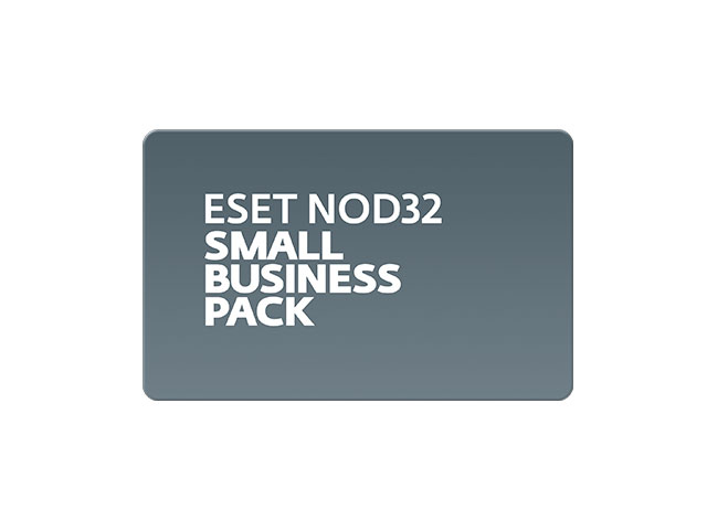 ESET NOD32 Small Business Edition - ESET NOD32 Small Business Pack (карта) 1-10 пользователей
